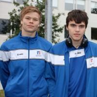 Logi og Roman ICG 2011 í Edinborg
