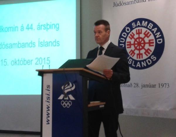 Jóhann Másson_Þing JSÍ 2015